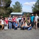 Cenpaleo recebe visita de alunos de Turismo da UFPR