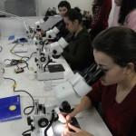 Equipe do Cenpáleo realiza curso de preparação mecânica de fósseis e coleta de pterossauros inéditos no noroeste do Paraná com a colaboração de especialista do Museu Nacional