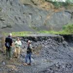 Cenpáleo apoia Geocientistas dos EUA que realizam estudos na região de Mafra